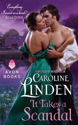 Book Deal: It Takes a Scandal by Caroline Linden for 3.99