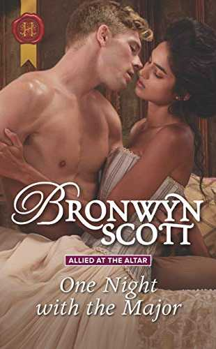 One Night with the Major by Bronwyn Scott